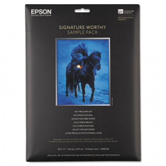 Epson S045234 Signature Worthy Paper Sample Pack