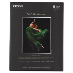 Epson S042307 Cold Press Bright Fine Art Paper