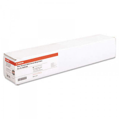"Canon Water Resistant Matte Canvas Paper Roll, 24 mil, 24"" x 40 ft, Matte White (0849V39603)"