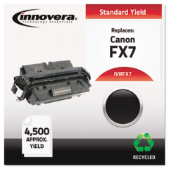 Innovera Black Toner Cartridge, Replacement for Canon FX7 (7621A001AA), 4,500 Page-Yi