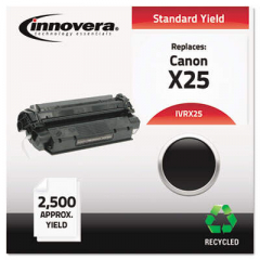 Innovera Black Toner Cartridge, Replacement for Canon X25 (8489A001AA), 2,500 Page-Yi