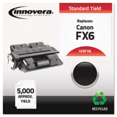 Innovera Black Toner Cartridge, Replacement for Canon FX6 (1559A002AA), 5,000 Page-Yi