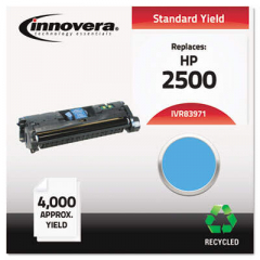 Innovera Cyan Toner Cartridge, Replacement for HP 123A (Q3971A), 4,000 Page-Yield (83