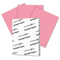 Springhill 075300 Digital Index Color Card Stock