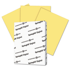 Springhill 055300 Digital Index Color Card Stock