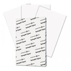 Springhill 015110 Digital Index White Card Stock