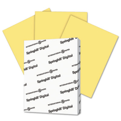Springhill 055100 Digital Index Color Card Stock