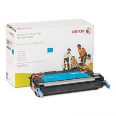 Xerox 006R01339 Replacement Toner for Q6471A (502A), Cyan