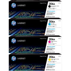 HP 206A Toner Cartridge Set