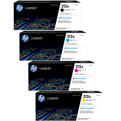 HP 212A Toner Cartridge Set