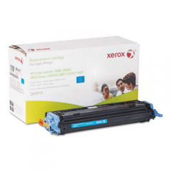 Xerox 006R01411 Replacement Toner for Q6001A (124A), Cyan