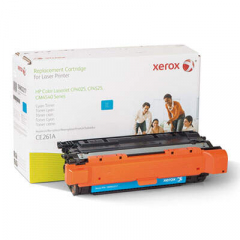 Xerox 106R02217 Replacement Toner for CE261A (648A), Cyan