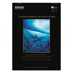 Epson S045487 Exhibition Textured Watercolor Paper