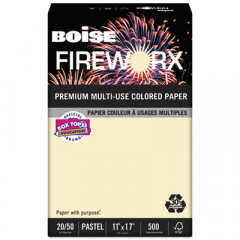Boise MP2207IYRM FIREWORX Premium Multi-Use Colored Paper