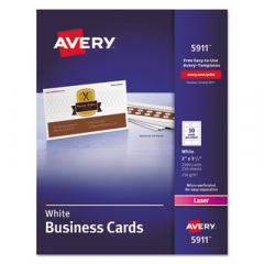 Avery 5911 Standard Printable Microperforated Business Cards