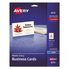 Avery 8376 Standard Printable Microperforated Business Cards