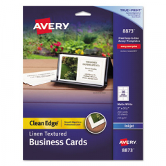 Avery 8873 Premium Clean Edge Business Cards