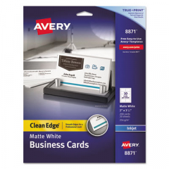 Avery 8871 Premium Clean Edge Business Cards