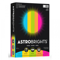"Astrobrights 99608 Color Paper -""Bright"" Assortment"