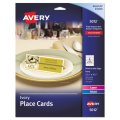 Avery 5012 Tent Cards