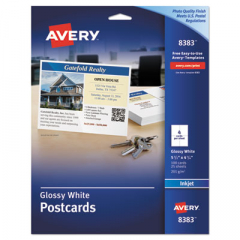 Avery 8383 Printable Postcards