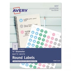 Avery 4221 Round Labels