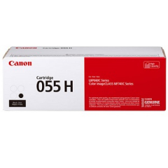 Canon 055H Black Toner Cartridge