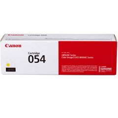 Canon 054 Yellow Toner Cartridge