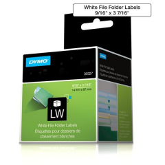 Dymo 30327 White File Folder Labels