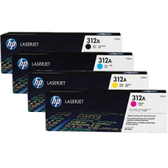 HP 312A Toner Cartridge Bundle