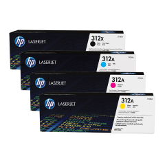 HP 312X Toner Cartridge Bundle