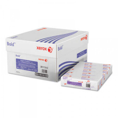 Xerox Bold Digital Printing Paper, 98 Bright, 24lb, 8.5 x 14, White, 500 Sheets/Ream, 8 Reams/Carton