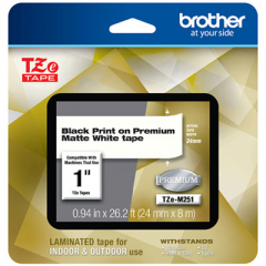 Brother TZEM251 Tape
