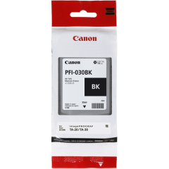 Canon PFI-030BK Black Ink Tank