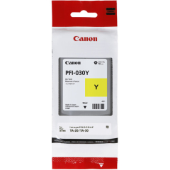 Canon PFI-030Y Yellow Ink Tank