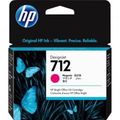 HP 712 Magenta Ink Cartridge (3ED68A)