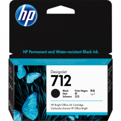 HP 712 Black Ink Cartridge (3ED70A)