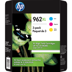 HP 962XL 3-Pack Ink Cartridges (3JB36BN)