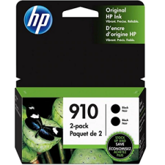HP 910 (3JB40AN) Black Ink Cartridge 2-Pack