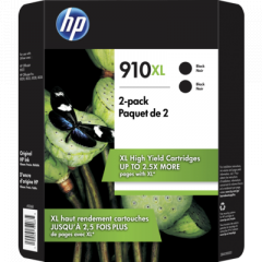 HP 910XL 2-Pack Ink Cartridges (3JB42BN)