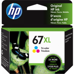 HP 3YM58AN Tri-Color Ink Cartridge
