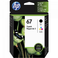 HP 3YP29AN Black Tri-Color Ink Cartridge