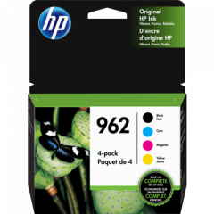 HP 962 4-Pack Ink Cartridges (3YQ25AN)