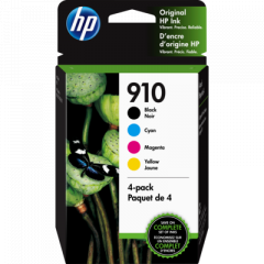HP 910 4-Pack Ink Cartridges (3YQ26AN)