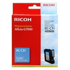 Ricoh 405505 Cyan Print Cartridge