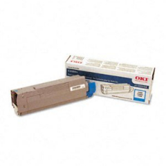 Okidata 43324468 Cyan Toner Cartridge
