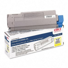 Okidata 43381901 Yellow Toner Cartridge