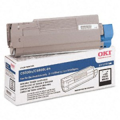 Okidata 43381904 Black Toner Cartridge