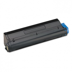 Compatible Okidata 43502001 Black Toner Cartridge