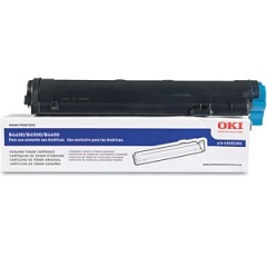 Okidata 43502301 Black Toner Cartridge